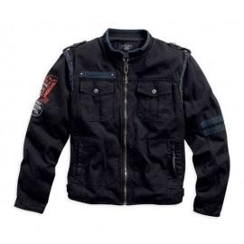 Black Canvas Jacket