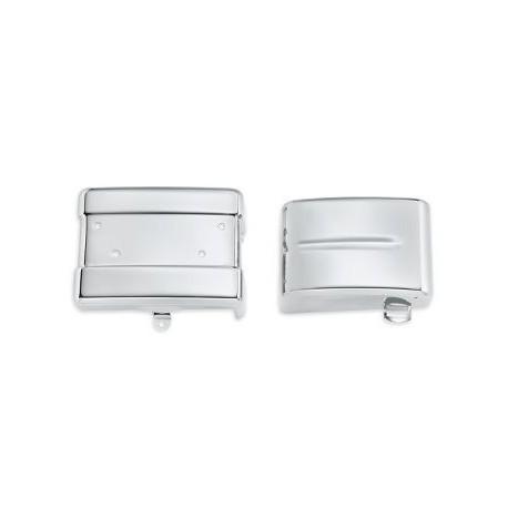 Kit de tapas de bateria y del panel electrico - Cromado