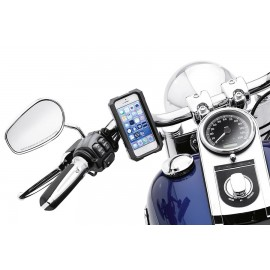 WATER RESISTANT HANDLEBAR MOUNT PHONE CARRIER FOR IPHONE & SAMSUNG