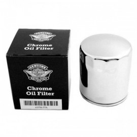 GENUINE HARLEY-DAVIDSON CHROME OIL FILTERS FIT XL