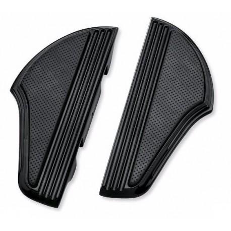 Defiance Footboard Kit - Passenger - Black Anodized