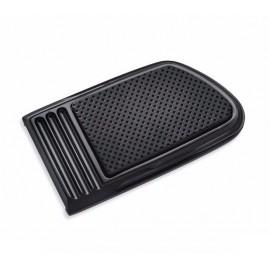 Almohadilla del pedal de freno grande Defiance Negro Anodizado
