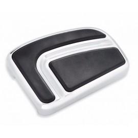 Airflow Brake Pedal Pads - Large Chrome