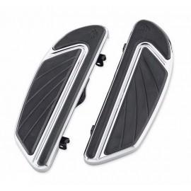 Airflow Footboard Kit - Rider - Chrome