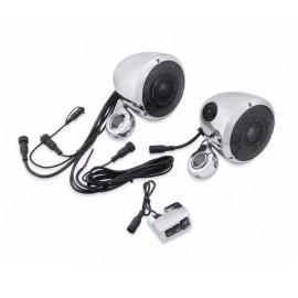 Boom! Audio Bluetooth Cruiser Amp and Speaker Kit - Chrome