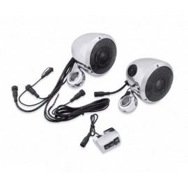 Boom! Audio Bluetooth Cruiser Amp and Speaker Kit - Chrome