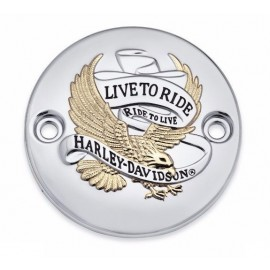 "The Harley-Davidson ""Live To Ride"" Collection – Gold - Timer Cover"