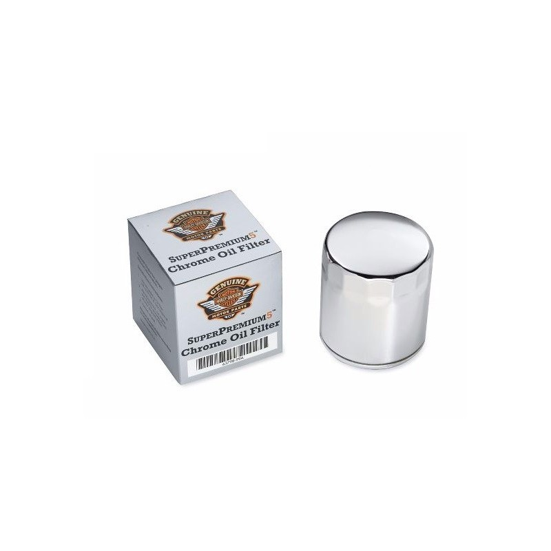Filtro de aceite SuperPremium5 Cromado