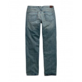 MEN`S MODERN STRAIGHT BOOT CUT JEANS