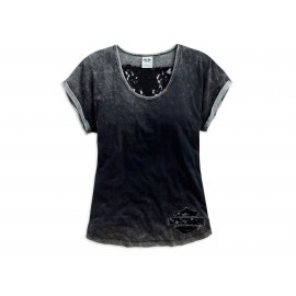 LACE WING TEE