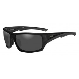 H-D MEN'S INK BAR & SHIELD SUNGLASSES, GRAY LENS/BLACK FRAME
