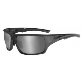 H-D MEN'S INK BAR & SHIELD SUNGLASSES, GRAY LENS & FRAMES