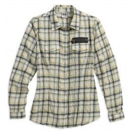 SHIRT 1903 CRINKLE PLAID
