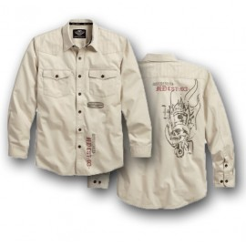 SHIRTS MEN`S STITCHED YOKE