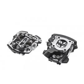 Culatas mecanizadas para motor Screamin' Eagle® Milwaukee-Eight® con refrigeración por aire/aceite, negro realzado