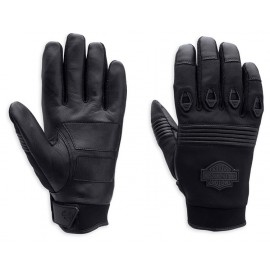 GLOVE-FF TEXT,VENTED,BLK