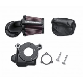 Kit de filtro de aire Screamin´ Eagle Elite Heavy Breather Negro