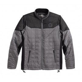 CONVERTIBLE PACKABLE MID-LAYER JACKET
