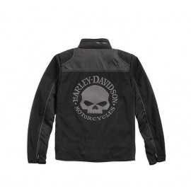SKULL WINDPROOF FLEECE JACKET