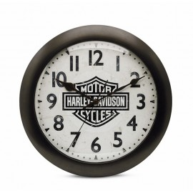 BAR & SHIELD® LOGO SILENT CLOCK