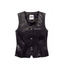 ESSENTIAL LEATHER VEST