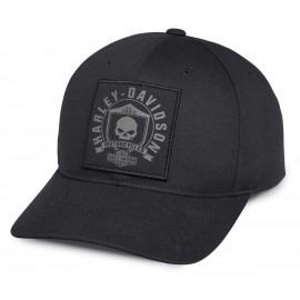 SKULL SHIELD PATCH CAP