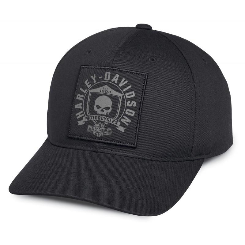 SKULL SHIELD PATCH CAP