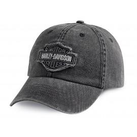 FRAYED TONAL LOGO CAP