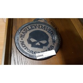 Harley-Davidson® Willie G. Skull Glass Cutting Board