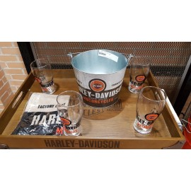 HARLEY DAVIDSON PARTY BUCLET SET