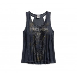 CAMISETA MUJER FRENCH TERRY TANK BY H-D