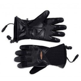 Heated II Plug In Leather Gloves