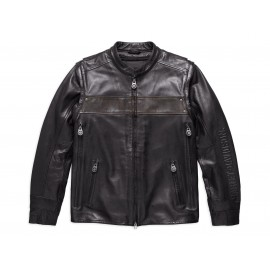 "WILLIE G"". LIMITED EDITION CONVERTIBLE LEATHER JACKET"