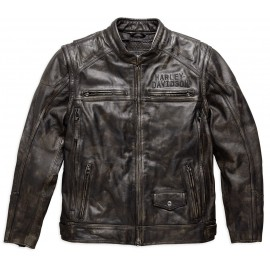 IRONWOOD CONVERTIBLE LEATHER JACKET BY HARLEY DAVIDSON