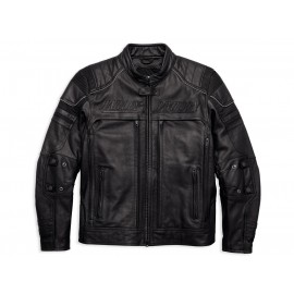 ERVING POCKET SYSTEM LEATHER JACKET BY HARLEY DAVIDSON