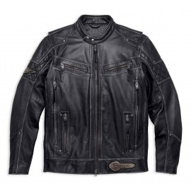 Harley-Davidson® Men's Tifton Distressed Leather Jacket