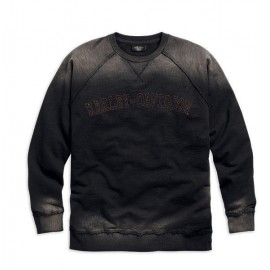 HARLEY DAVIDSON MEN'S VINTAGE LONG SLEEVE SWEATSHIRT