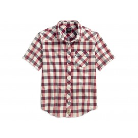 HARLEY DAVIDSON PLAID SHORT SLEEVE SHIRT