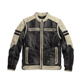 Harley Davidson Men's Knave Leather/Textile Jacket
