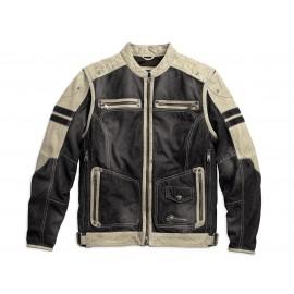 Harley Davidson Men's Knave Leather/Textile Jacket