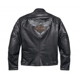 115TH ANNIVERSARY EAGLE CE-CERTIFIED LEATHER JACKET
