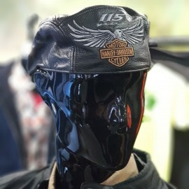 H-D® Men's 115th Anniversary Leather Ivy Cap