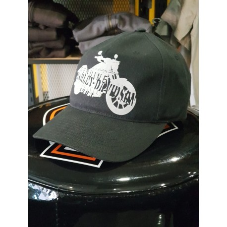 4180444a Harley-Davidson Mens Motorcycle Silhouette Cap - Harley Davidson ...