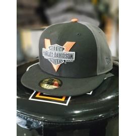 HARLEY-DAVIDSON MEN'S VINTAGE LOGO 59FIFTY CAP