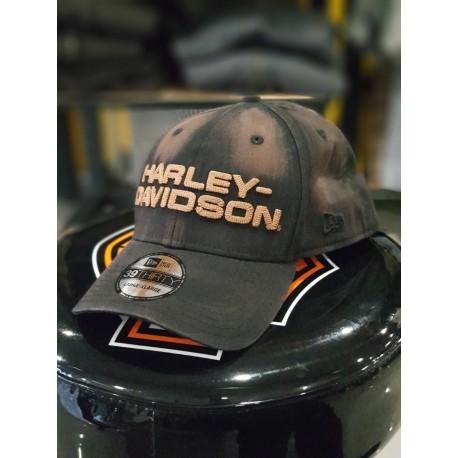 GORRA LAVADA EN ACEITE HARLEY DAVIDSON 39THIRTY - Harley Davidson ... 3fa0384c9ec