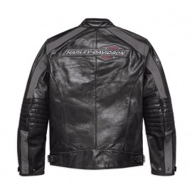 Clarno Perforated Leather Jacket