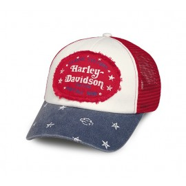 Colorblock Americana Trucker Cap