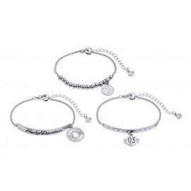 Charm Bracelets, Set of 3