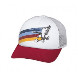 Rainbow Eagle Foam Trucker Cap