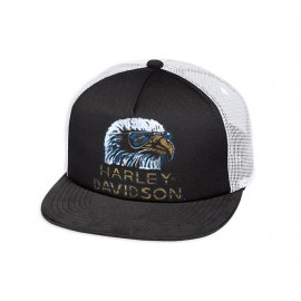Retro Eagle Trucker Cap